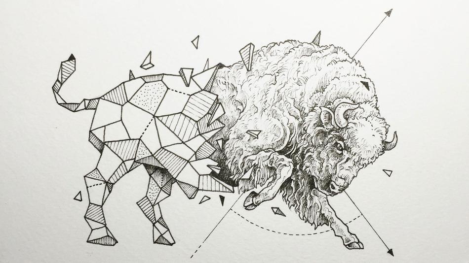 Pixel House Web Studio Blog Geometric Animals