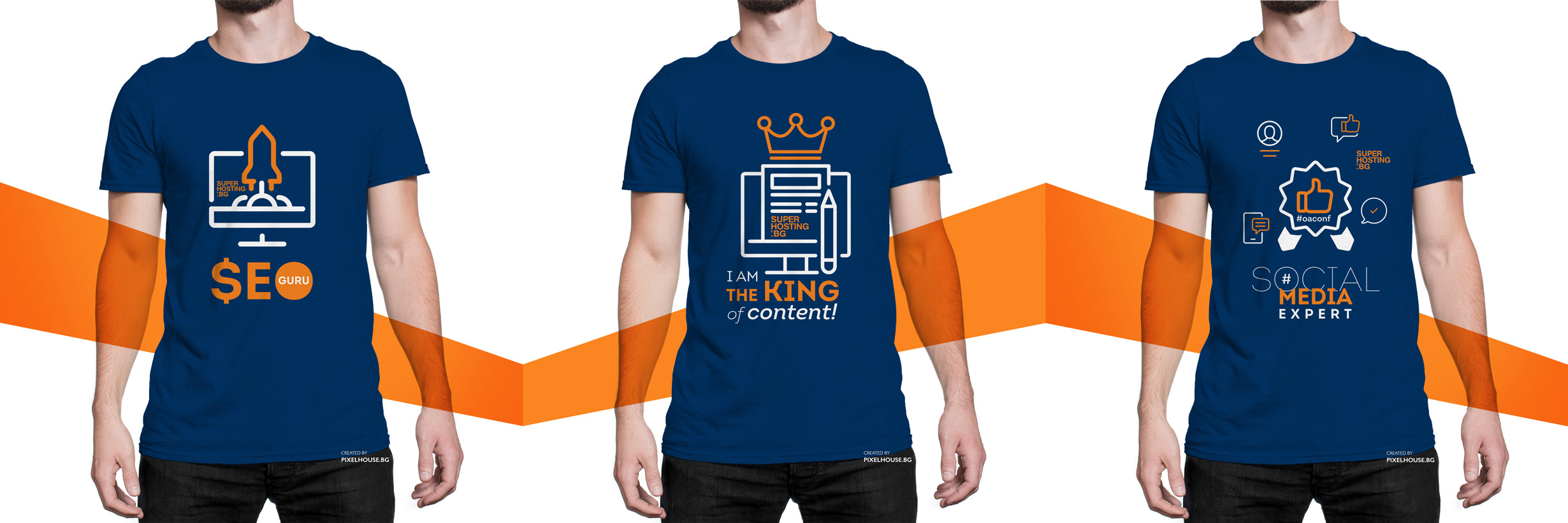 Superhosting T Shirts Design Pixel House Web Studio