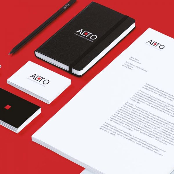 Alto Communication - Brand by Pixel House Studio